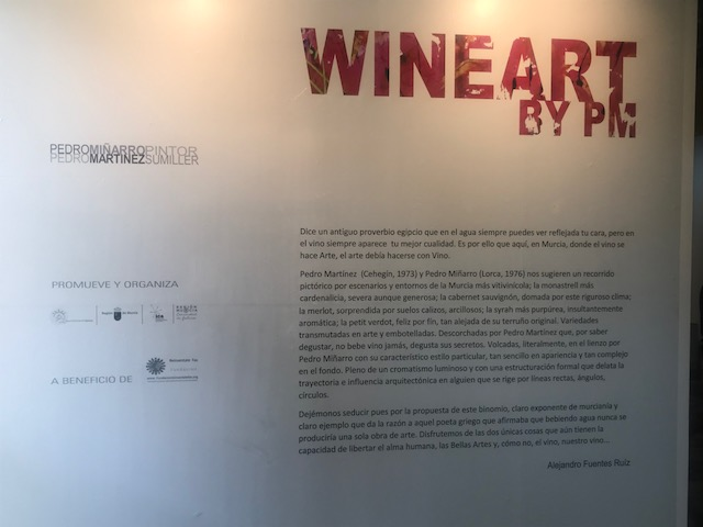 Exposición Wineart By PM